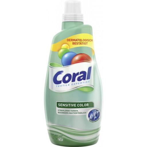 Coral sensitive color gel 1.5L 20x