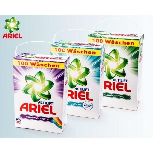 Ariel pulveris sortimentā