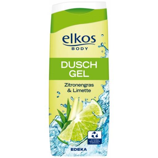 Elkos body dusch gel zitronengras & limette