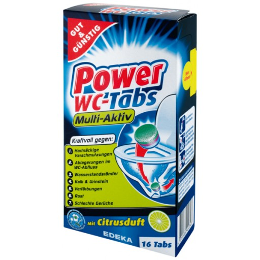 Gut & Gunstig Power WC- Tabs 16x