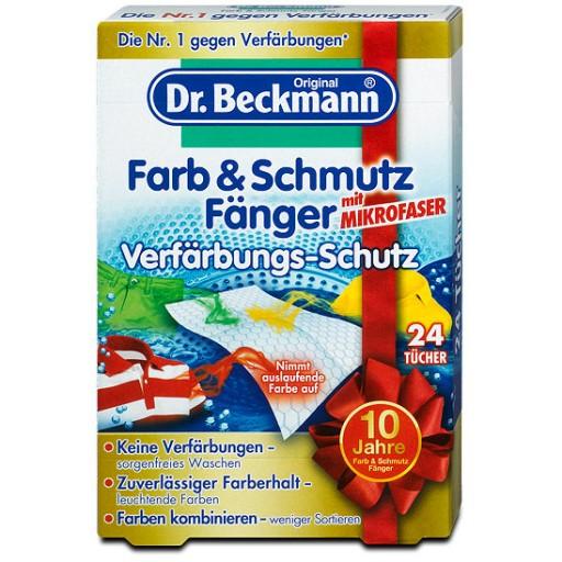 Dr. Beckmann Farb & Schmutz fanger (krāsu salvetes) 24gb