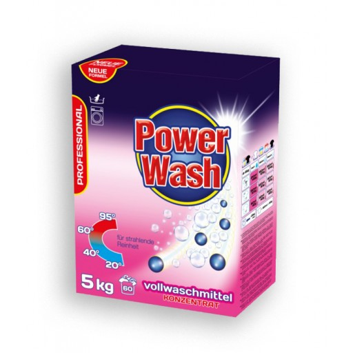 Power Wash Volwaschmittel Professional 5 kg