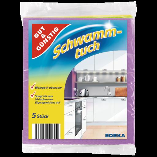 Schwamm-tuch Gumijotas lupatiņas 5gb.