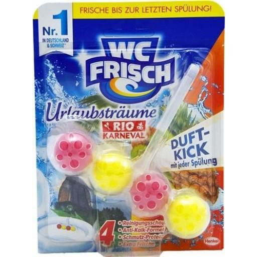 Wc Frisch 50g piekarīņš tualetes podam WC Rio Karneval