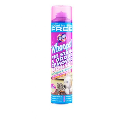 Xanto Pet stain & odour remover mousse 0.55L