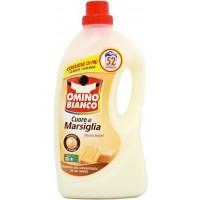 Omino Bianco 52x šķidrais pulveris universāls ar marseļas ziepēm 2,6l